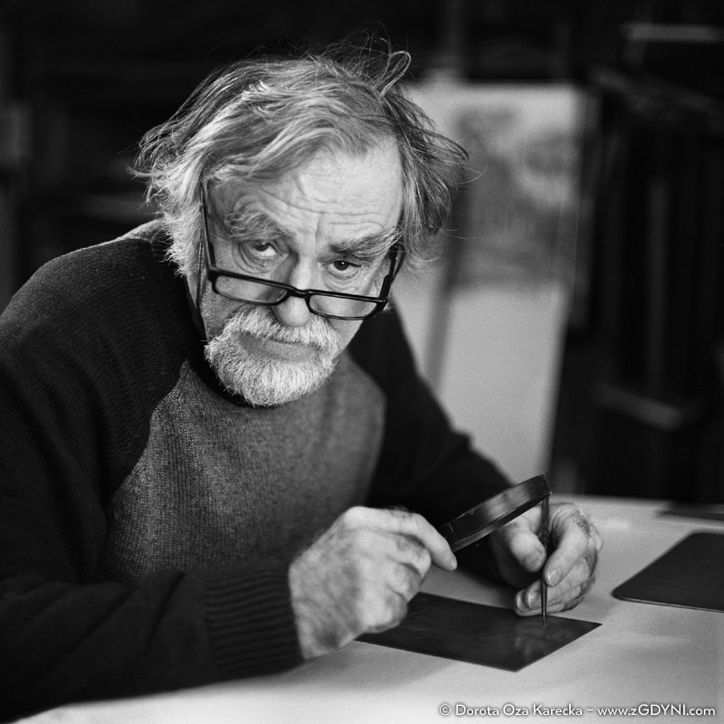 Wojciech Kostiuk - artysta grafik.