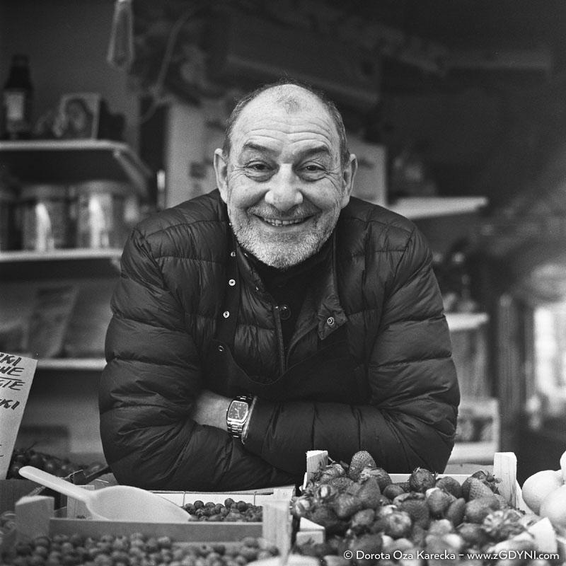 Marek Litwin - Sprzedawca owoców i warzyw