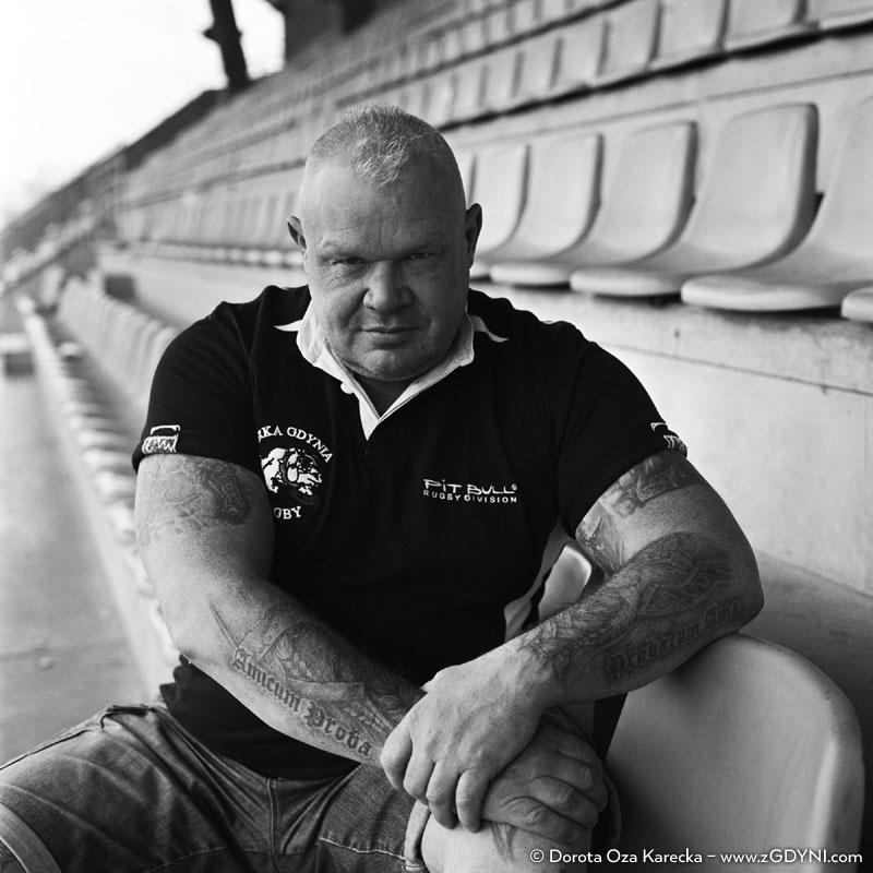 Zbyszek Rybak - Założyciel klubu Arka Gdynia Rugby