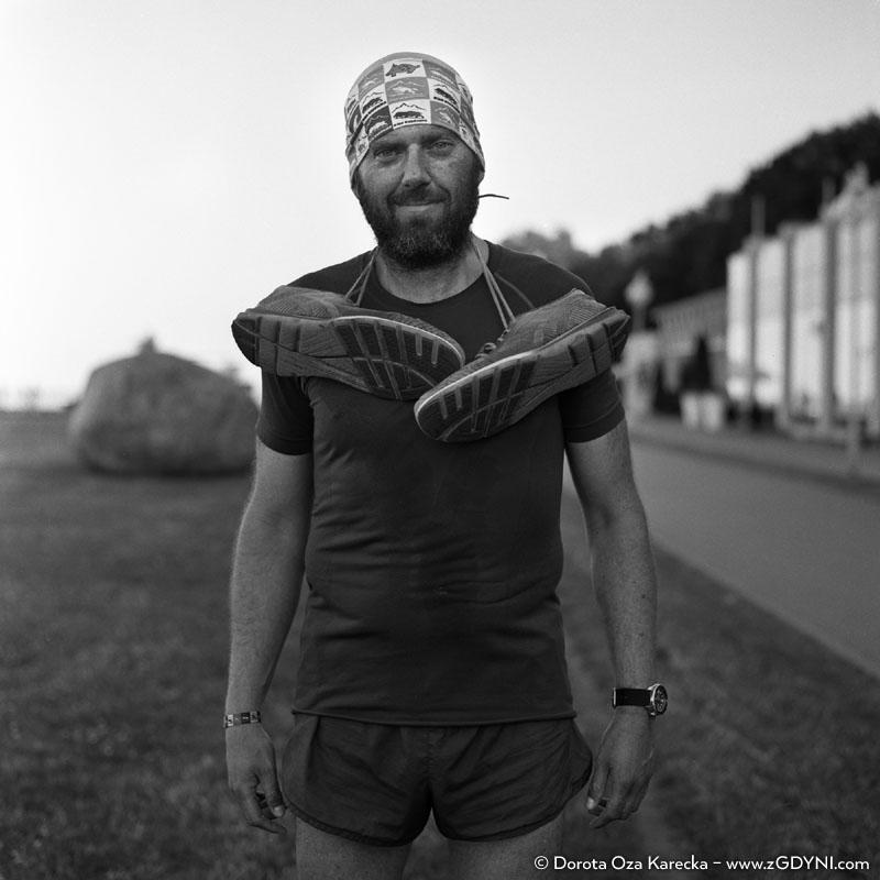 Tomasz Daduń - szewc, który biega :) Projekt #zGdyni, Dorota Oza Karecka